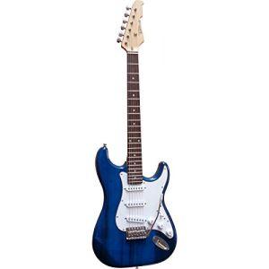 Vision Instruments Guitare électrique type Stratocaster (5 coloris au choix)