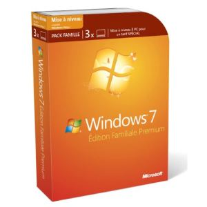Windows 7 : Edition Familiale Premium - Mise à jour pour Windows