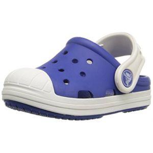 Image de Crocs Bump It Clog Kids, Mixte Enfant Sabots, Bleu (Cerulean Blue/Oyster), 24-25 EU