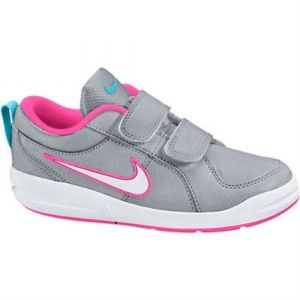 Nike Pico 4 (PSV), Chaussures de Tennis Fille, Multicolore (Wolf Grey/White/Clearwater/Pink Pow 010), 30 EU