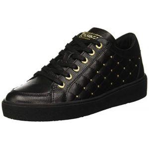 Guess Glinna, Chaussures de Gymnastique Femme, Noir Black, 35 EU
