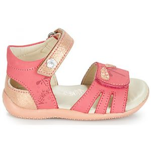 Kickers Sandales enfant BESHINE rose - Taille 19