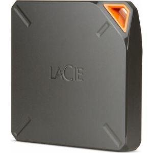 """Lacie 9000436EK - Disque dur externe Fuel 1 To 2.5"""" USB 3.0 WiFi"""