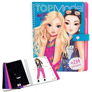Kontiki Top model - Album coloriage Magic fun