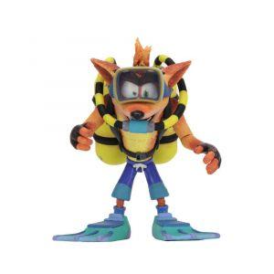 Neca Action figures - Crash Bandicoot figurine Deluxe Scuba Crash 14 cm--NE