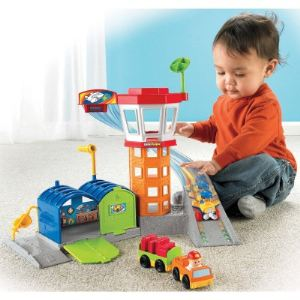 Fisher-Price L'aéroport Wheelies Little People
