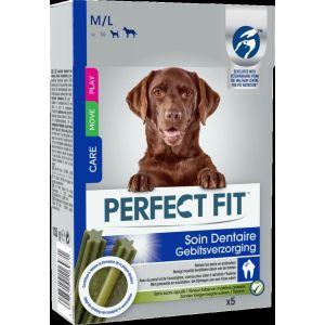 Perfect fit Soin dentaire friandises - 5 bâtonnets - Pour moyen et grand chien
