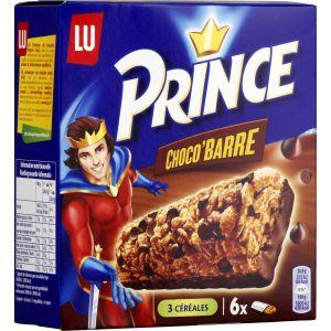 Lu Barres Chocolat Prince - La Boite De 6 - 125 G