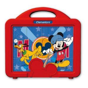 Clementoni Puzzle 12 cubes : Mickey et ses amis