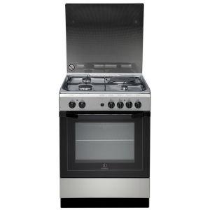 photos officielles ff1db d17d7 Indesit I6M6HAGX - Cuisinière mixte 3 brûleurs gaz avec four électrique