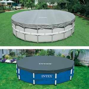 Intex Bâche de protection Deluxe piscine tubulaire ronde Ø 4,88 m