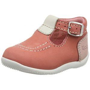 Kickers Chaussures salomé Bonbek bébé fille rose