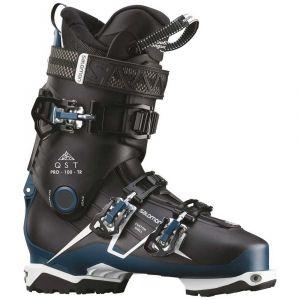 Salomon Chaussures de ski Qst Pro 100 Tr - Black / Petrol Blue / White - Taille 30.0-30.5