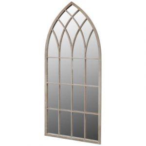 VidaXL Miroir de Jardin Arche rustique 115 x 50 cm Intérieur et Extérieur