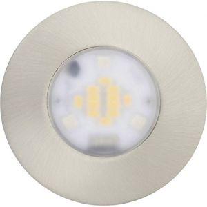 JEDI LIGHTING Jedi 563041550 Spot Encastrable Performa 1L Alu, Métal, Intégré, 7.5 W, Argent, 8,5 x 8,5 x 5,5 cm