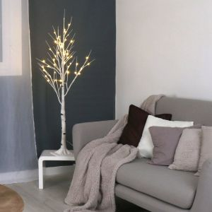 Bouleau - Arbre lumineux (120 cm)
