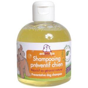 Anibiolys Shampooing préventif chien répulsif au géraniol naturel