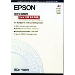 Epson 100 feuilles de papier de photo Quality 102g/m² (A3)