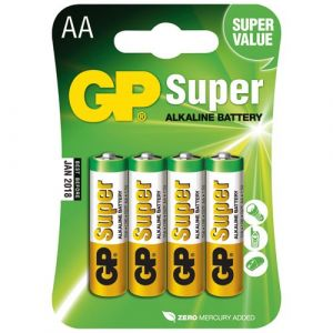 GP Batteries Piles LR6 AA 1,5V