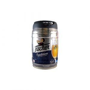 Fischer TRADITION Fût de bière blonde - Compatble Beertender - 5L