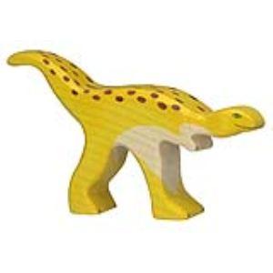 Holztiger Figurine dinosaure : Staurikosaurus en bois