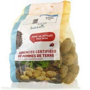 Botanic Pommes de terre Desiré bio calibre 0001, 3 kg