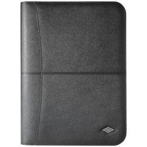 Wedo 58 6001 - Conférencier Accento, format A4, simili cuir, noir