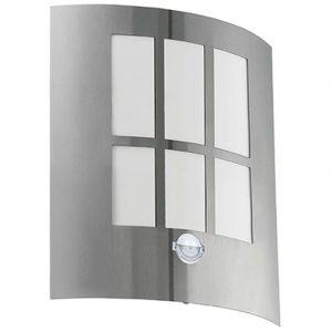 Eglo Applique murale à LED avec détecteur de mouvement, hauteur 26 cm CITY LED