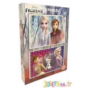 Educa Puzzle Frozen 2 - 2 x 20 Pieces - Reine des Neiges 2