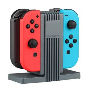 Mpteck Station d'accuei Nintendo Switch Joy-Con - Charge 4 contrôleurs