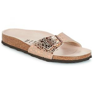 Birkenstock Madrid, Mules Femmes, Rose (Metallic Stones Copper Metallic Stones Copper), 41 EU