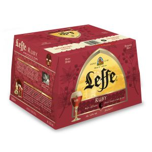 Leffe Bière Ruby - Le Pack De 20 Bouteilles De 25cl