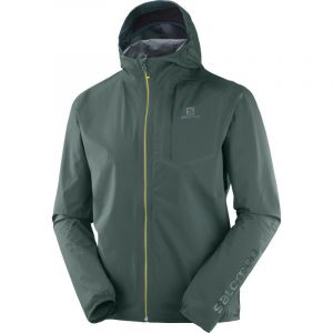 Salomon BONATTI PRO WP - Veste Homme green gables