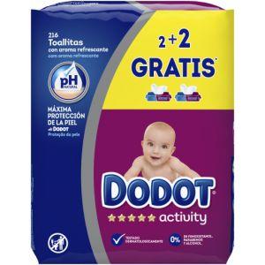 Dodot Activity Lingettes Pour Bébé 216 Unités