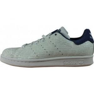 Adidas Stan Smith, Baskets Femme, Blanc (Footwear White/Footwear White/Noble Indigo 0), 38 2/3 EU