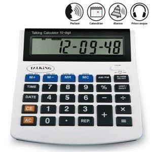Hestec Calculatrice parlante pour seniors