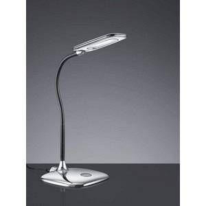 Trio Lampe de bureau led Polly Chrome Plastique 573910106
