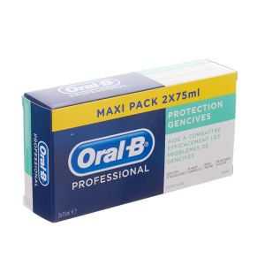 Oral-B Protection Gencives - Dentifrice (2 x 75 ml)