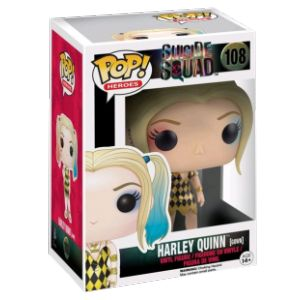 Funko Pop! Harley Quinn - Figurine DC Heroes Suicide Squad In Gown Exclu 10 cm