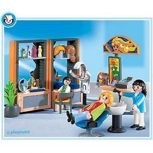 Playmobil 4413 - Coiffeuse Et Salon De Coiffure