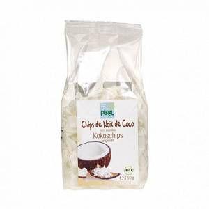 Pural Chips noix de coco bio 150g