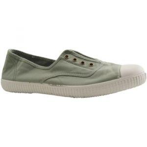 Victoria Shoes Dora Jade Canvas Plimsoll 37 Vert