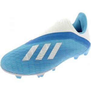 Adidas Chaussures de foot enfant X 19.3 FG LL FG J SCARPINI CELESTI bleu - Taille 32,33
