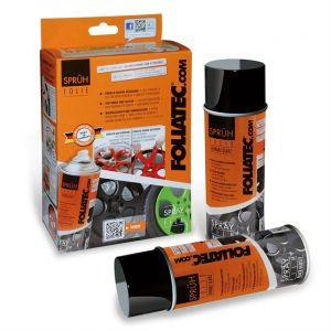 Foliatec Bombe de peinture orange brillant 2057 2 x 400 ml