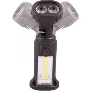 Rs pro Lampe torche double éclairage à tête rotative, non rechargeable à LED 150 lm Plastique