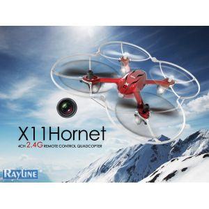 RayLine X11C Hornet - Drone radiocommandé 2,4Ghz avec caméra