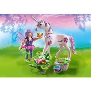 Playmobil 5440 Fairies - Fée cuisinière avec licorne violette