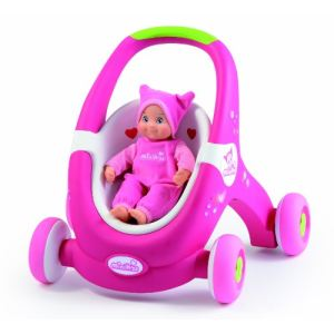 Smoby 160176 - Minikiss Baby Walker