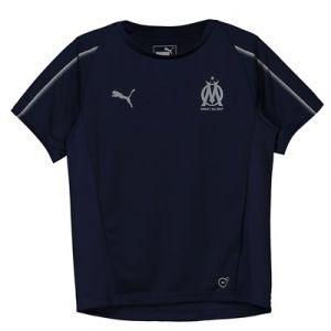 Puma T-shirt enfant Maillot Om Training 2018-19 bleu - Taille 8 ans,10 ans,12 ans,14 ans