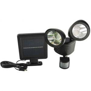Lampe solaire avec détecteur de mouvement - 3.7v 1200mah - 25x17x10 cm